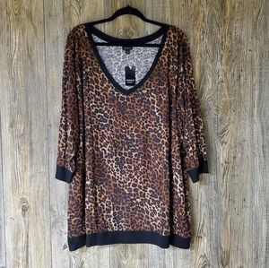Torrid Leopard Print Top NWT